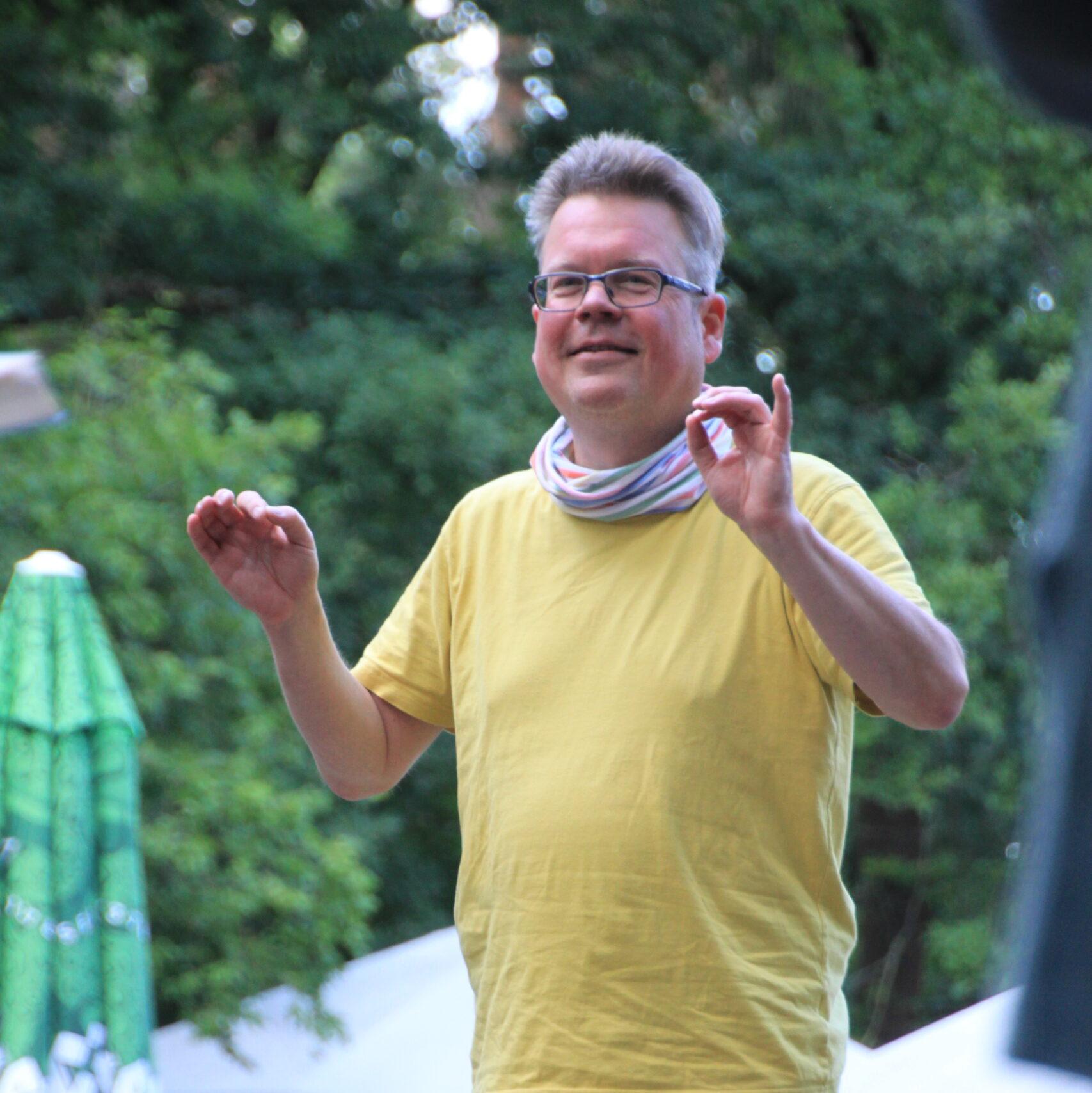 Chorleiter Martin Helge Lüssenhop
