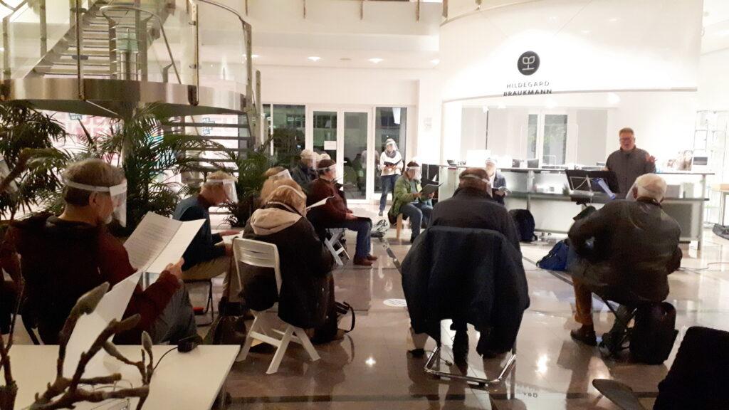Probe Foyer Fa. Braukmann Oratorienchor Burgwedel