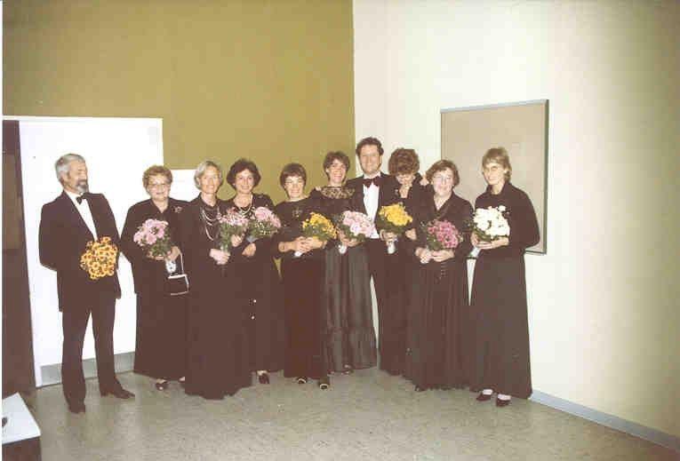 1975: Die 10 Chor-GründerInnen