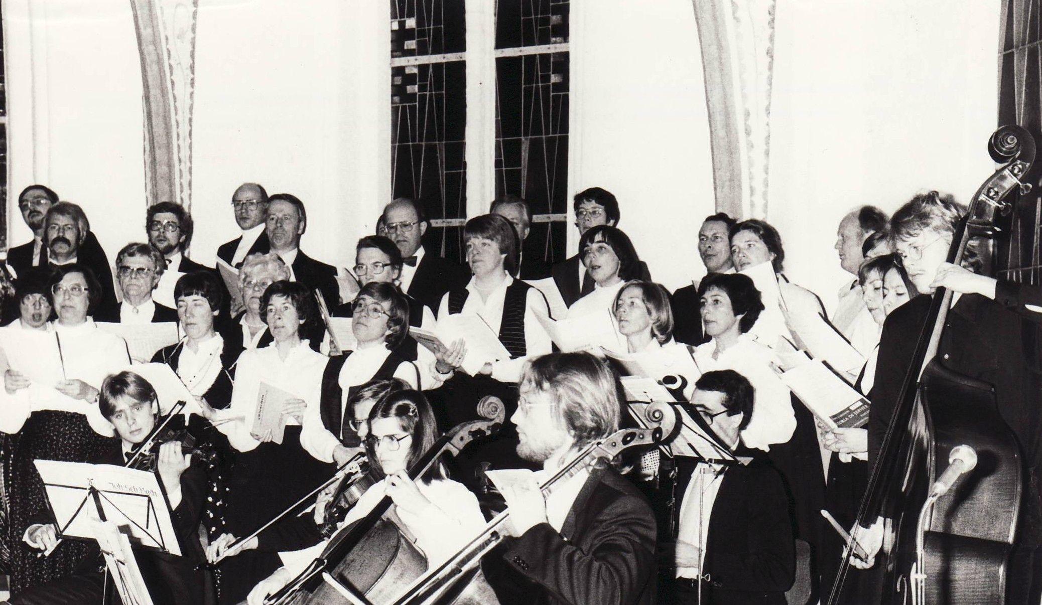 1981: 1. Konzert als Madrigalchor in St. Petri