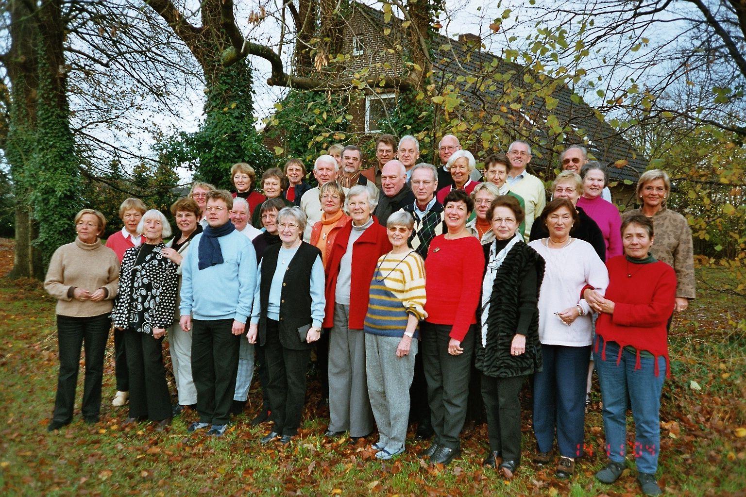2004: Chorwochenende in Albstedt