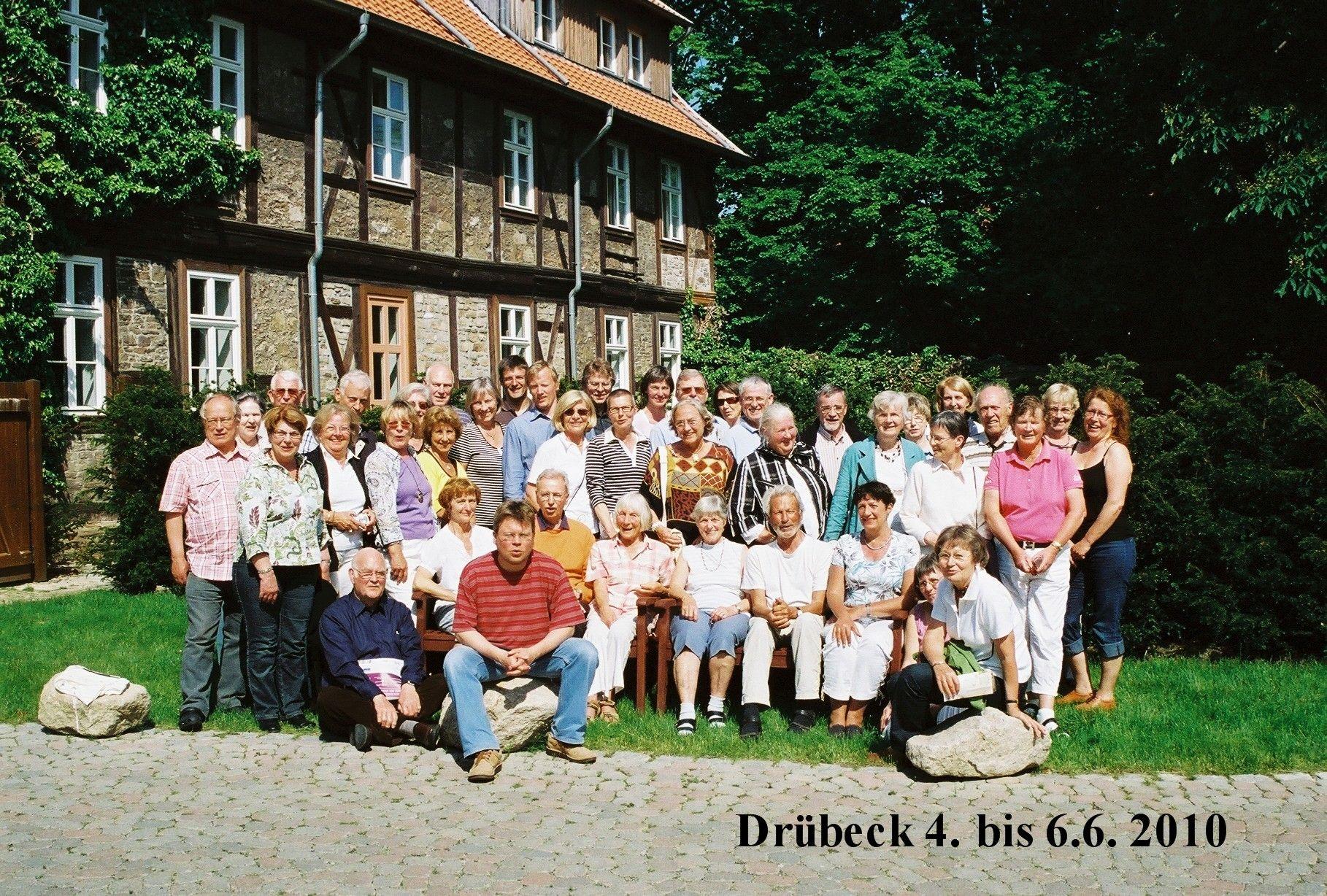 2010: Chorwochenende in Drübeck