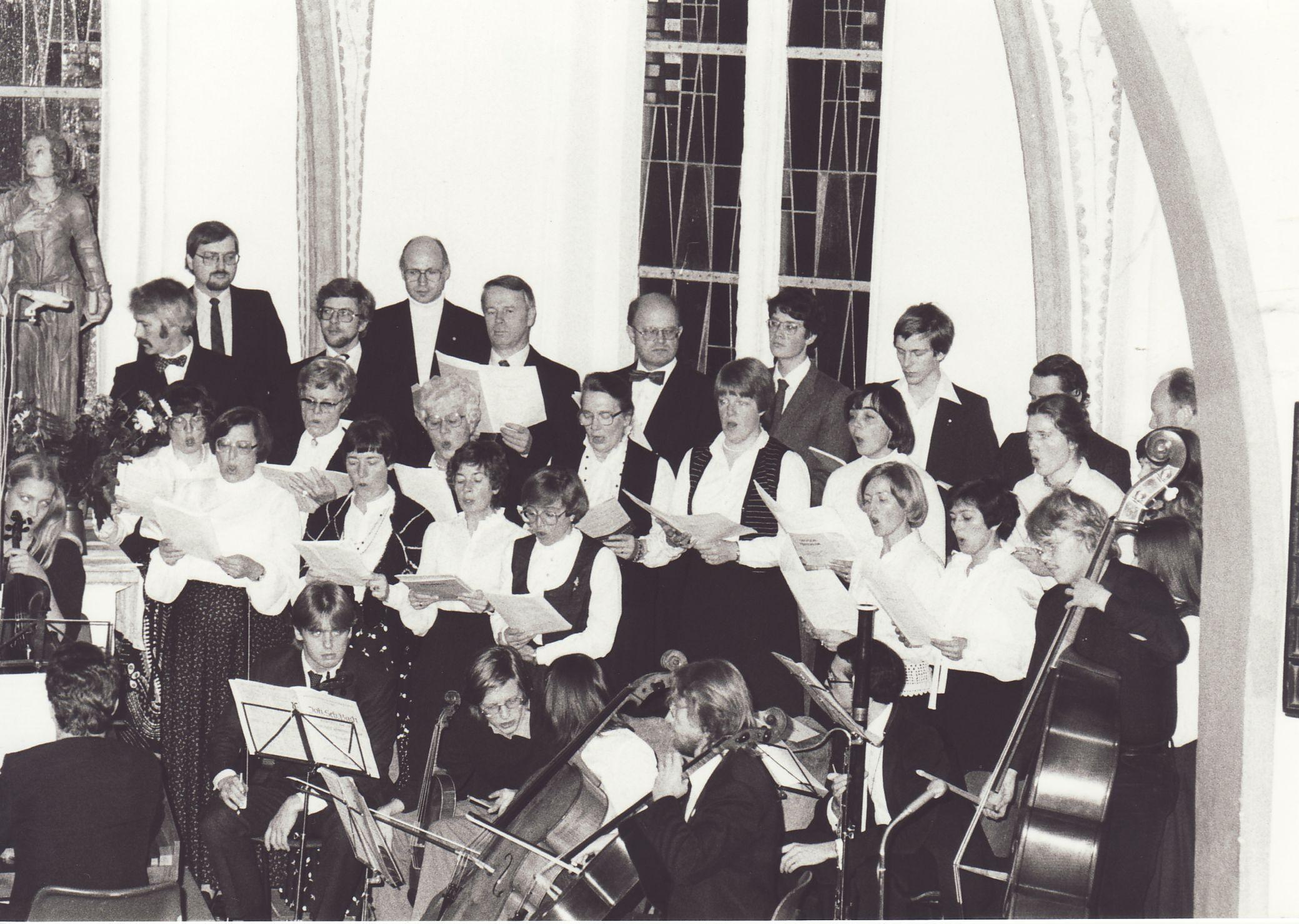 1981: Oratorium Historia di Jephte