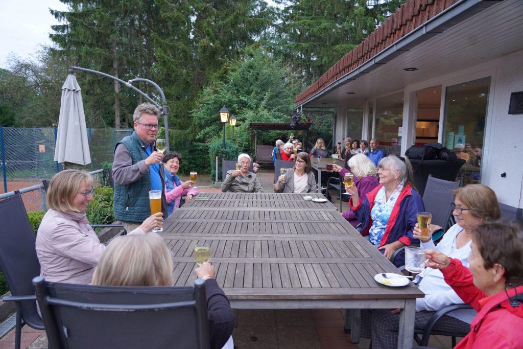 Umtrunk Martin vor Sommerpause